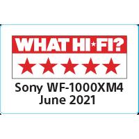 Resnično brezžične slušalke z odpravljanjem šumov SONY WF-1000XM4S srebrne