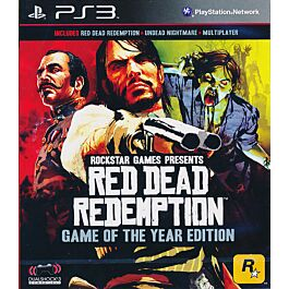 Red Dead Redemption: Game Of The Year (PS3)