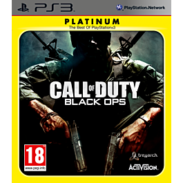 CALL OF DUTY BLACK OPS PLATINUM (PS3)