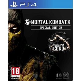 MORTAL KOMBAT X STEELBOOK DELUXE (PS4)