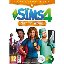 SIMS 4 GET TO WORK (PC)