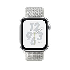 Pametna ura APPLE WATCH NIKE+ SERIES 4 GPS (44 mm) - Sport Loop - Siva