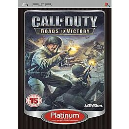 Call of Duty: Roads to Victory platinum (PSP)
