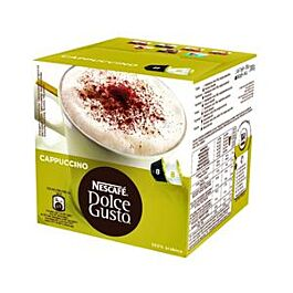 Kapsule DOLCE GUSTO - Cappuccino