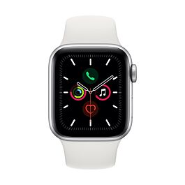Pametna ura APPLE WATCH SERIES 5 GPS (40 mm) - Sport Band-Sivo bela
