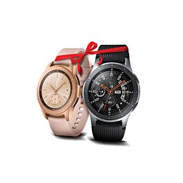 Set pametnih ur Samsung Galaxy Watch SM-R800 46mm + Samsung Galaxy watch SM-R810 42mm