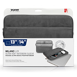 Torba za prenosnike PORT DESIGNS Milano do 12,2'' siv