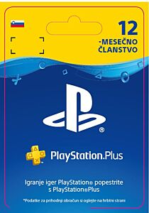 Kartica PlayStation Plus - 12Mesecev