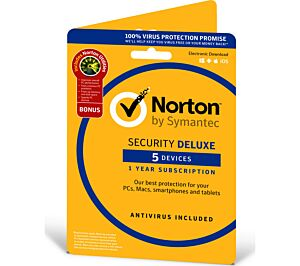 Antivirus NORTON SECURITY DELUXE za 5 naprav