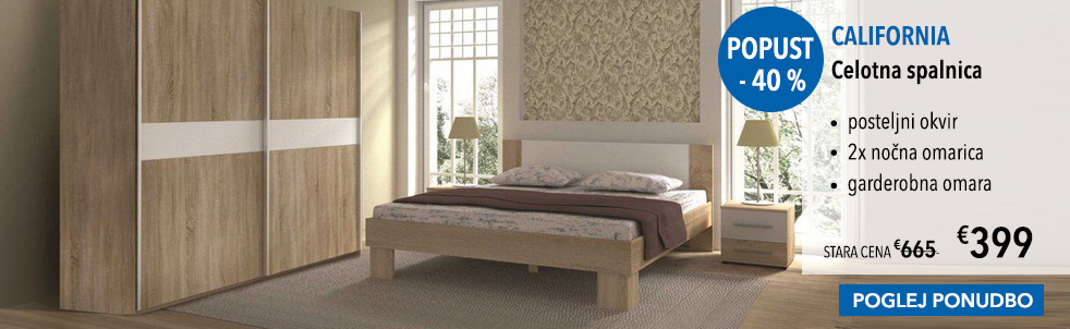 Celotne spalnice