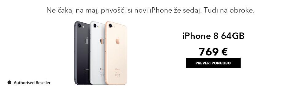 Apple iPhone 8 prednaročilo