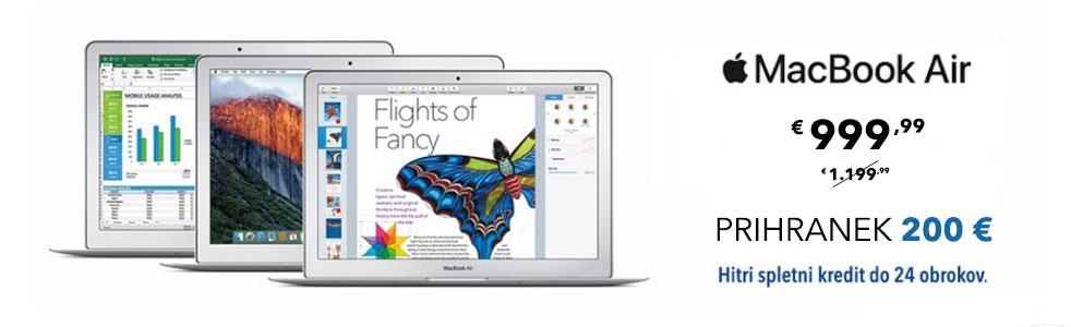 Ultrabook prenosiki Macbook Air