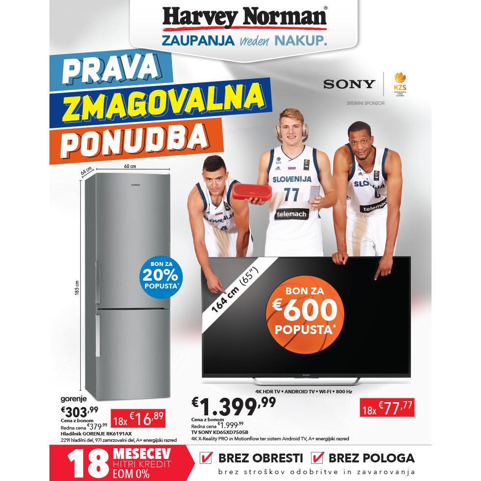 Harvey Norman katalog - Prava zmagovalna ponudba