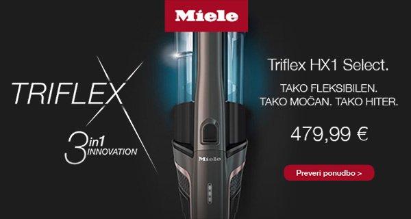 SLO - Main Category Banner [Mali gospodinjski aparati] - MIELE TRIFLEX HX1 SELECT