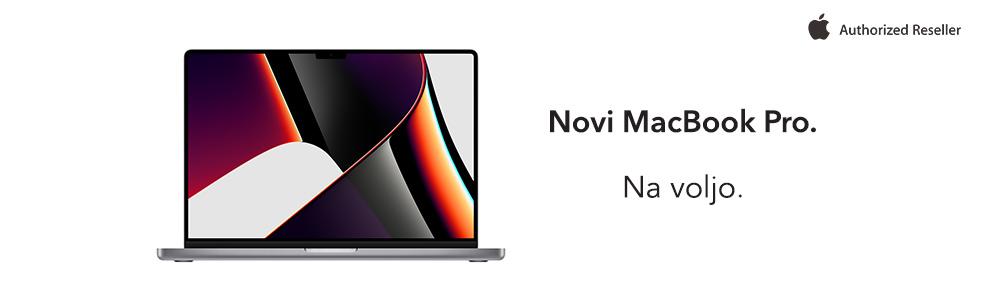SLO - Category Banner [Prenosni racunalniki] - Novi MacBook Pro