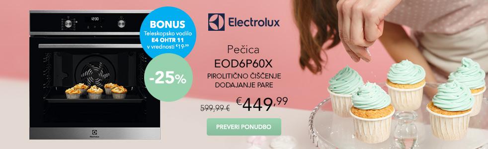 Pečica s pirolizo ELECTROLUX