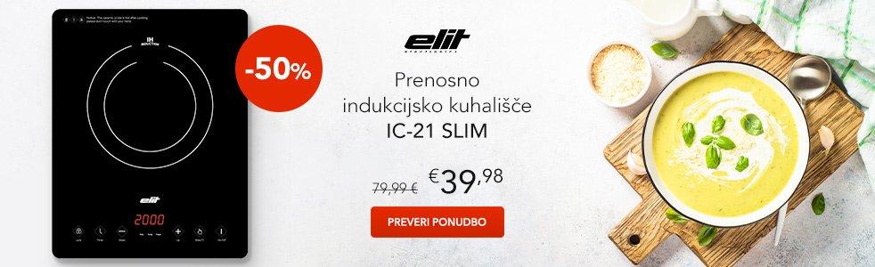 SLO - Category Banner [Grelniki, kuhalniki in cvrtniki] - Elit IC-21 Slim