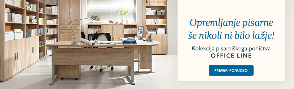 SLO - Category Banner [Pisarnisko pohistvo] Office line