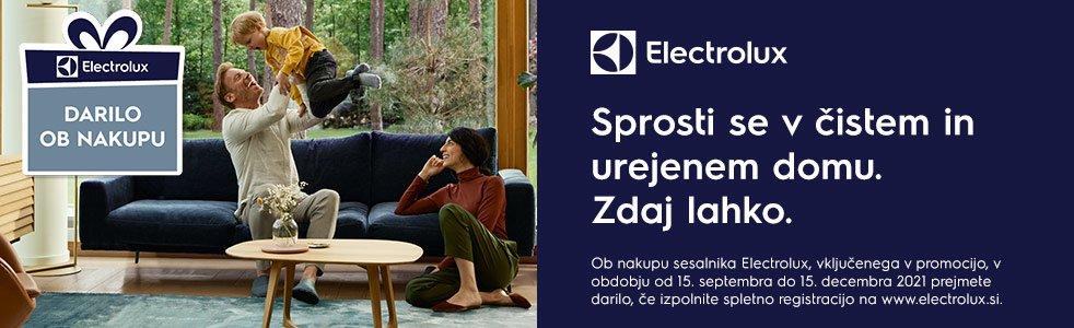 SLO - Category Banner [Sesalniki in dodatki] - darilo ob nakupu Electrolux