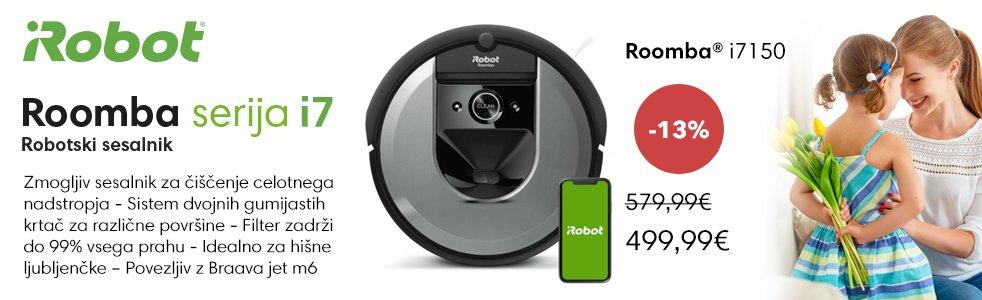 SLO - Category Banner [Robotski sesalniki] - iROBOT i7150