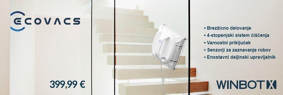SLO - Category Banner [Vodni in parni čistilci] - Ecovacs Winbot X