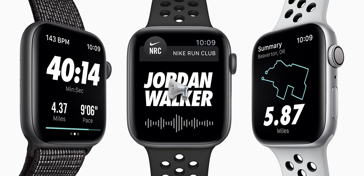 apple wach nike