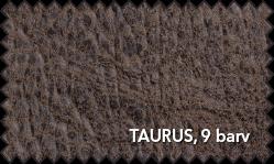 Primer vzorca materiala Taurus za sedežno garnituro Polipol v rjavi